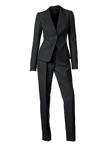 B.c. best connections kostuum, 2-delig zwart