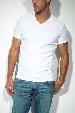 Levi's T-shirt met korte mouwen 'WHITE/WHITE'
