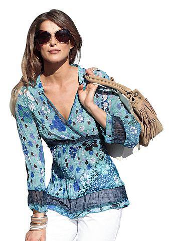 Vivance collection tuniek, vivance collection turquoise/blauw