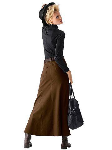 Alba moda rok bruin