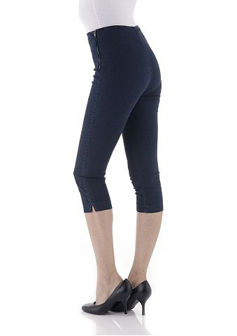 Aniston capri-jeans, aniston dark blue