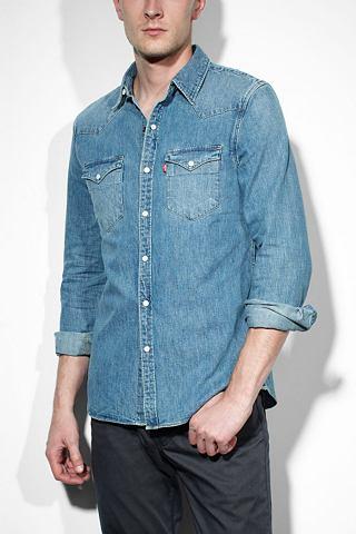 Levi's overhemd met lange mouwen 'STONEWASH DENIM'
