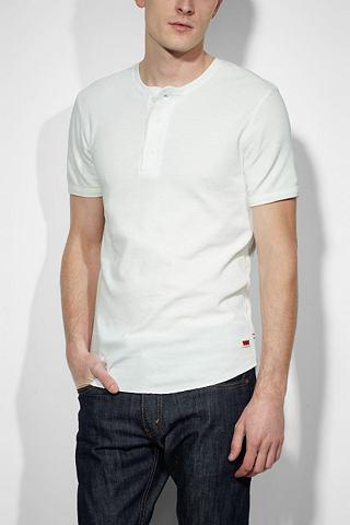 Levi's T-shirt met korte mouwen 'WHITE SMOKE'
