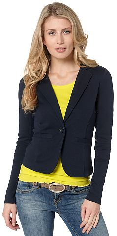 Tom tailor tom tailor sweat »svea sweat blazer« real navi blue