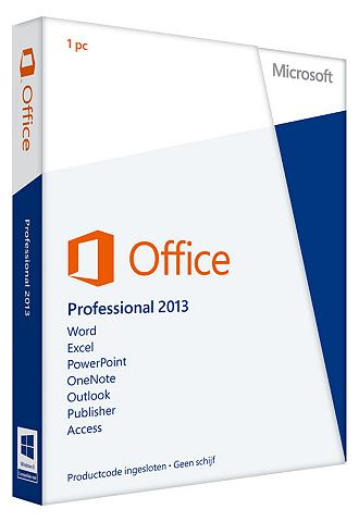 Microsoft office 2013 professional dutch...